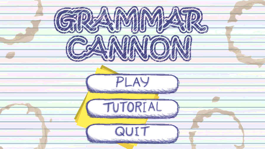 Grammar Cannon Screenshot 1