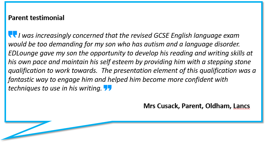 Home education parent testimonial