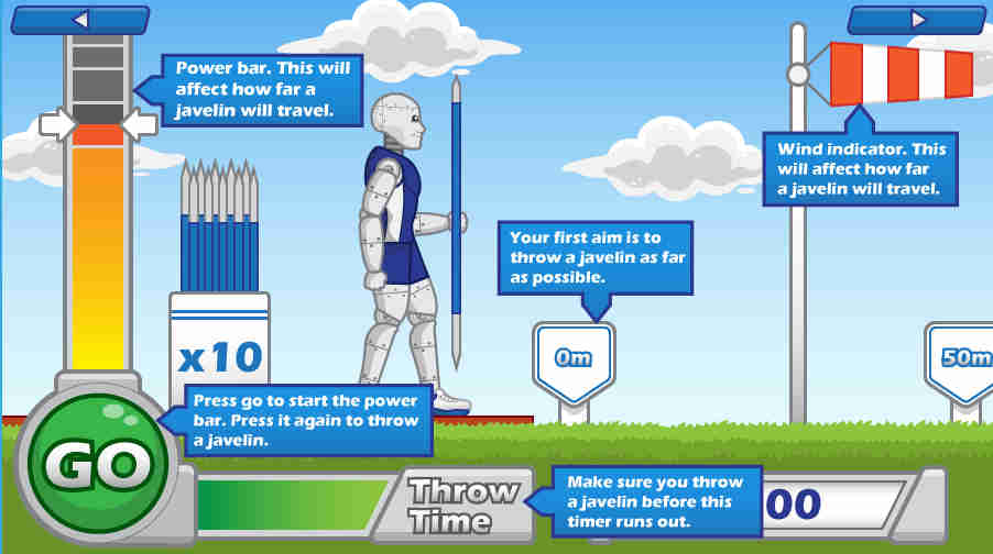 Javelin Thrower Screenshot 2