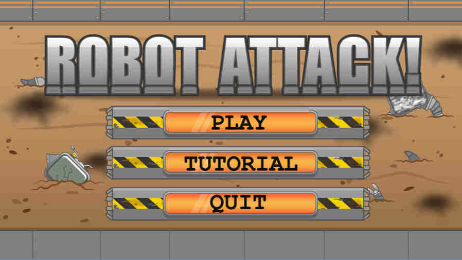 Robot Attack Screenshot 1