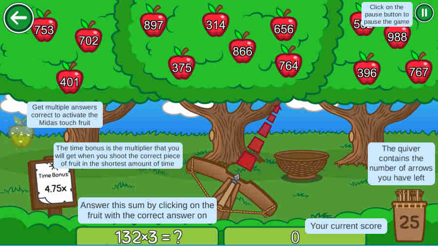 Shoot the Fruit Screenshot 2