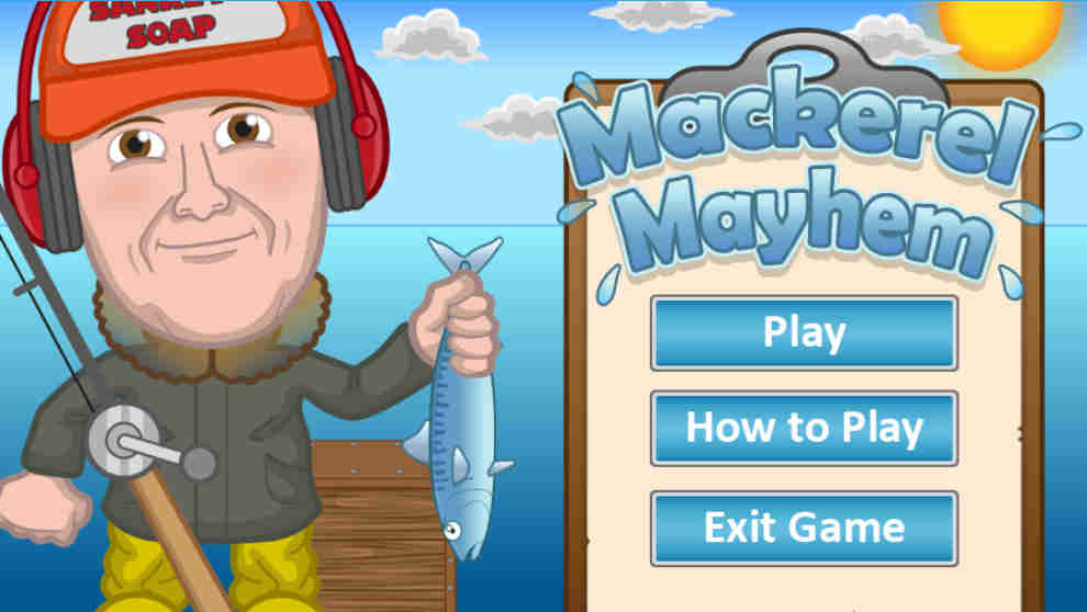 Mackeral Mayhem Screenshot 1