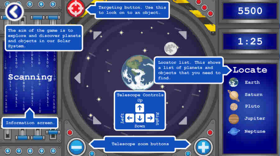 Space Explorer Screenshot 2