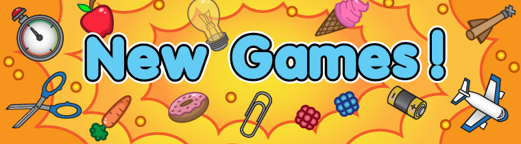 Brand new games on EDLounge!