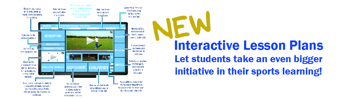 New Interactive Lesson Plans