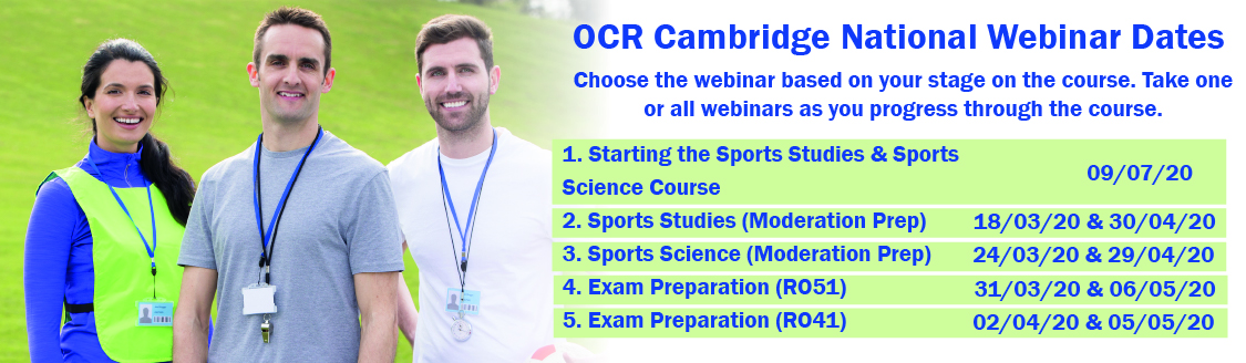 Cambridge National OCR Days 2020